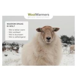 Woolwarmers POS materiaal